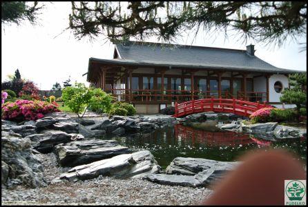 Czerwony-mostek-ogrod-japonski-Pisarzowice